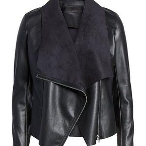 BlankNYC leather/suede jacket